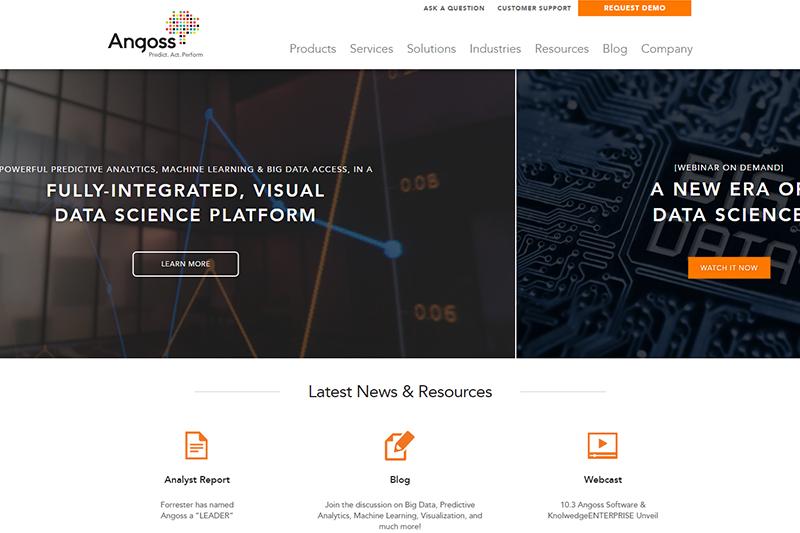 Business intelligence and analytics - Angoss
