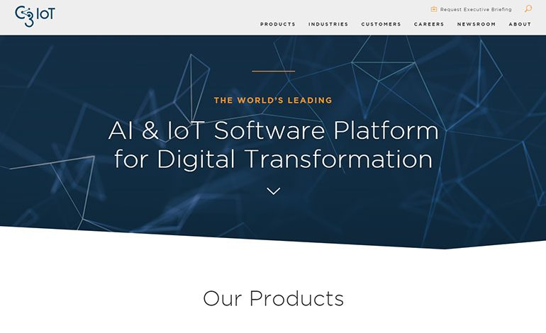 C3 IoT Platforms – AI for Data Analytics