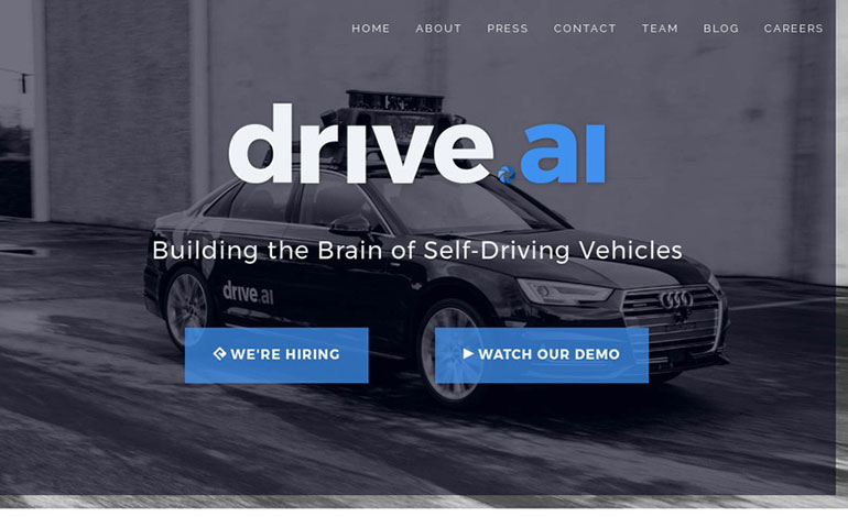 Drive.ai autonomous vehicles