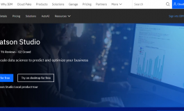 Data Science Tools from IBM Watson Studio