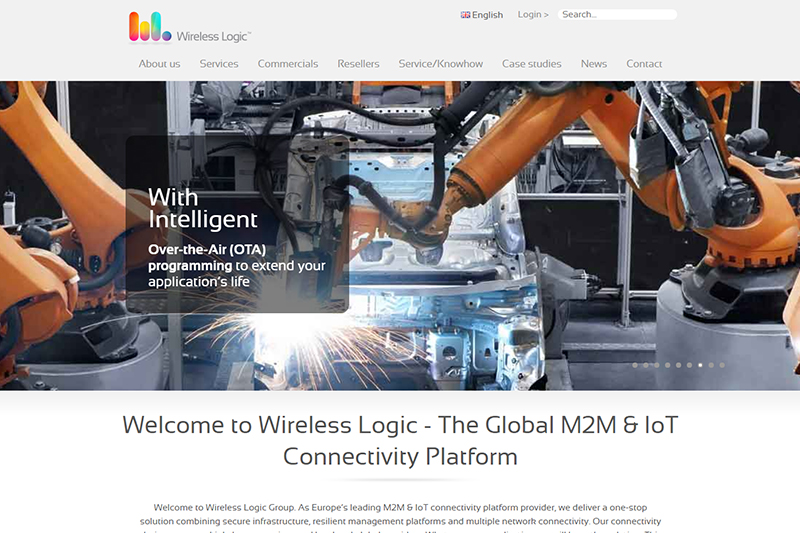 M2M and IoT Platform - Wireless Logic