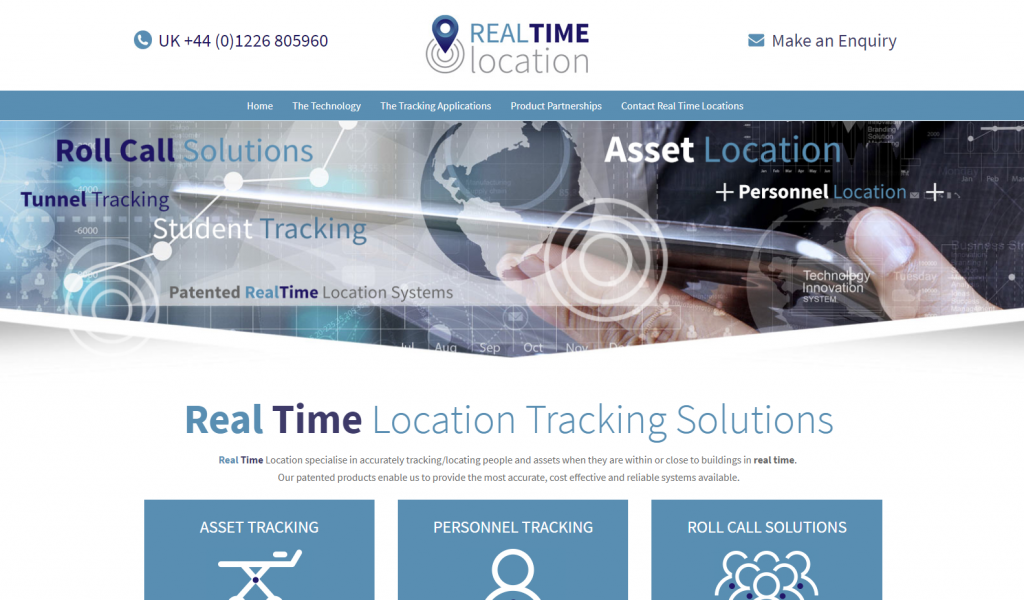 Tracking systems from Real Time Location, UK
