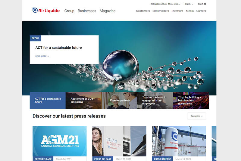 Air Liquide - sustainable business solutions